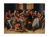The Last Supper, 1548 Giclee Print by Pieter Jansz. Pourbus