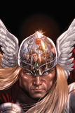 X-Factor No.212 Cover: Thor Posing Posters by David Yardin