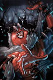 The Amazing Spider-Man No.652 Cover: Spider-Man Fighting and Trapped Posters by Stefano Caselli