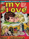 Marvel Comics Retro: My Love No.18 Cover: Kissing Posters