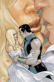 Uncanny X-Men No.527 Cover: Namor Hugging Print by Terry Dodson