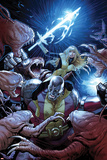 Uncanny X-Men No.8 Cover: Colossus and Magik Fighting Posters by Greg Land