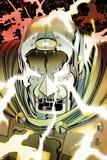 Doomwar No.6 Cover: Dr. Doom Affischer av John Romita Jr.