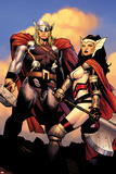 The Mighty Thor No.2: Sif and Thor Posters by Olivier Coipel