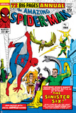 Amazing Spider-Man Annual No.1 Cover: Spider-Man, Sandman, Mysterio, Dr. Otto Octavius, and Electro Prints