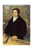Portrait of an Architect, Berlin, 1820 Giclee Print by W. Herbig