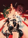 All-New X-Men Special 1 Cover: Beast, Grey, Jean, Iceman, Cyclops, Doctor Octopus, Hulk Prints by Alexander Lozano