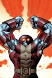 Uncanny X-Men No.543 Cover: Colossus Smashing Prints by Greg Land