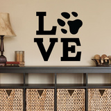 Pet Love Wall Decal