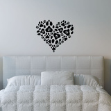 Heart Of Paws Wall Decal