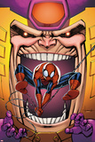 Marvel Adventures Spider-Man No.23 Cover: Spider-Man and M.O.D.O.K Prints by Ale Garza