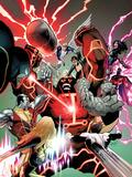 Uncanny X-Men No.541: Juggernaut, Colossus, Psylocke, Pryde, Kitty, Iceman, Angel, Magneto & Others Prints by Greg Land