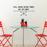 Fall Seven Wall Decal