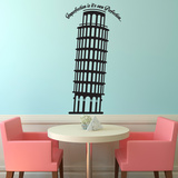 Pisa Wall Decal