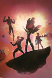 Uncanny X-Men Annual No.3 Cover: Hope Summers, Cyclops, Namor, and Dr. Nemesis Prints by Black Frog