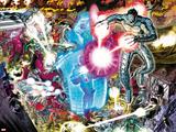 Avengers No.4: Ultron Flying and Fighting Affiches par John Romita Jr.
