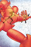 Astonishing X-Men No.36: Armor Fighting and Smashing Photo by Jason Pearson