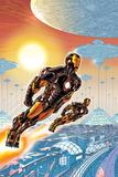 Iron Man 20 Cover: Iron Man Prints by Paul Rivoche