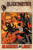 Black Panther: The Most Dangerous Man Alive No.524 Cover: Arachnids at Large! Prints by Francesco Francavilla