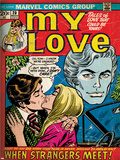 Marvel Comics Retro: My Love No.20 Cover: Kissing Posters