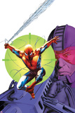 Heroes For Hire No.6 Cover: Spider-Man and Paladin Prints by Doug Braithwaite