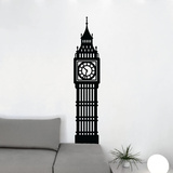Simple Big Ben Wall Decal
