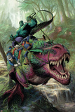 Indestructible Hulk 20 Cover: Hulk, Two-Gun Kid, Kid Colt, Rawhide Kid Láminas por Mukesh Singh