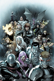 X-Men Legacy No.245 Cover: Cyclops, Avalanche, Angel, Colossus, Storm, and Gambit Poster par Leinil Francis Yu