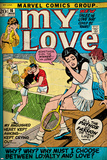 Marvel Comics Retro: My Love No.16 Cover: Sitting Poster