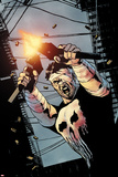 The Punisher No.7 Cover: Punisher Prints by Michael Lark