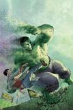 Indestructible Hulk 14 Cover: Hulk, Banner, Bruce Print by Mukesh Singh