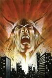 Thor: Heaven & Earth No.2: Thor Screaming Prints by Mark Texeira