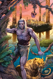 Ka-Zar No.1: Ka-Zar and Zabu Walking in the Jungle Prints by Pascal Alixe