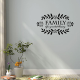 Lifes Blessing Wall Decal