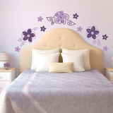 Groovy Flowers Wall Decal