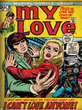 Marvel Comics Retro: My Love No.19 Cover: Fighting Prints