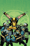 Wolverine No.23 Cover: Wolverine Prints by John Romita Jr.