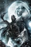 Francesco Mattina - Shadowland: Moon Knight No.2 Cover: Moon Knight Standing Plakát