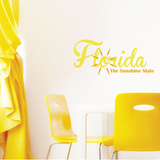 Florida Sunshine Wall Decal