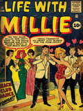 Marvel Comics Retro: Life with Millie No.13 Cover Posters