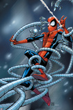 Marvel Adventures Spider-Man No.6 Cover: Spider-Man Trapped Posters by Patrick Scherberger