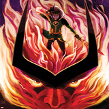 Journey Into Mystery No.626 Cover: Loki in Flames Posters by Stephanie Hans
