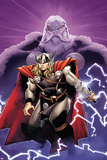 The Mighty Thor No.2 Cover: Thor and Odin Affiches par Olivier Coipel