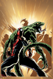 Superior Spider-Man 13 Cover: Spider-Man, Lizard Posters by Giuseppe Camuncoli