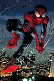 Ultimate Spider-Man No.152: Spider-Man Swinging Prints by Sara Pichelli