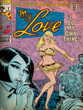 Marvel Comics Retro: My Love No.2 Cover: Posing Photo