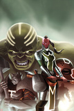 Fear Itself: The Worthy No.1 Cover: Red Skull, Juggernaut, Hulk, and Grey Gargoyle Posters by Jelena Djurdjevic