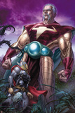 Astonishing Thor No.1: The Stranger Standing Behind Thor Posters by Mike Choi