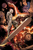 Silver Surfer No.3: Riding through Space Prints by Harvey Tolibao