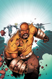 Kev Walker - Thunderbolts No.168 Cover: Luke Cage Running Plakáty